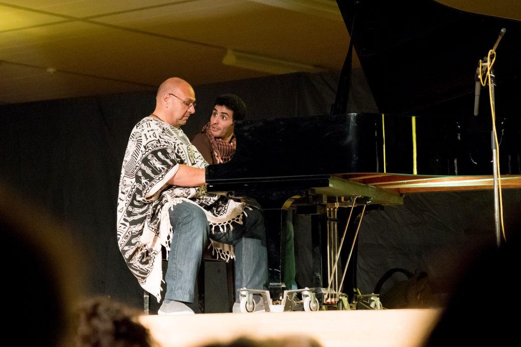 Aeham Ahmad und Bergo Kamal Ibrahim