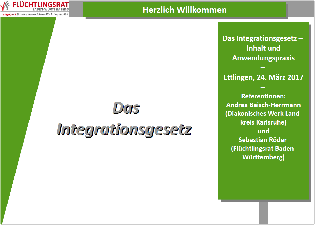 Vortragsfolien Integrationsgesetz