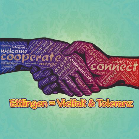 Ettlingen = Toleranz & Vielfalt
